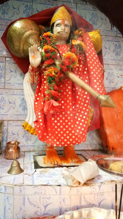 Hanuman Jayanti, Hanuman Jayanti 2018年, Hanuman Jayanti历史, Hanuman Jayanti Puja Vidhi, 免版税库存图片