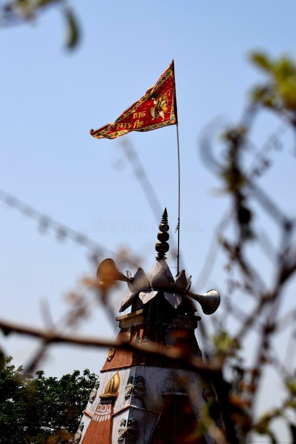 Hanuman jayanti arkivbild