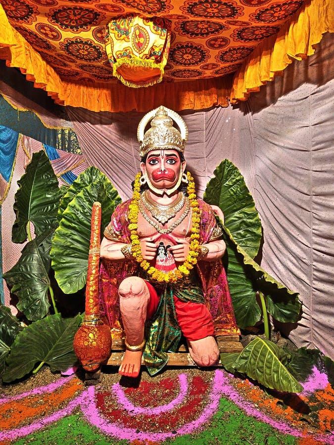 hanuman lord royaltyfria foton