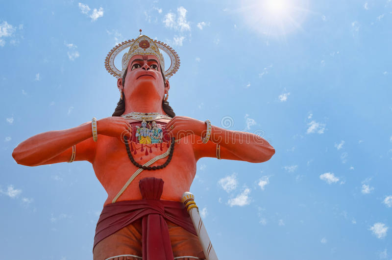 hanuman lord royaltyfria bilder