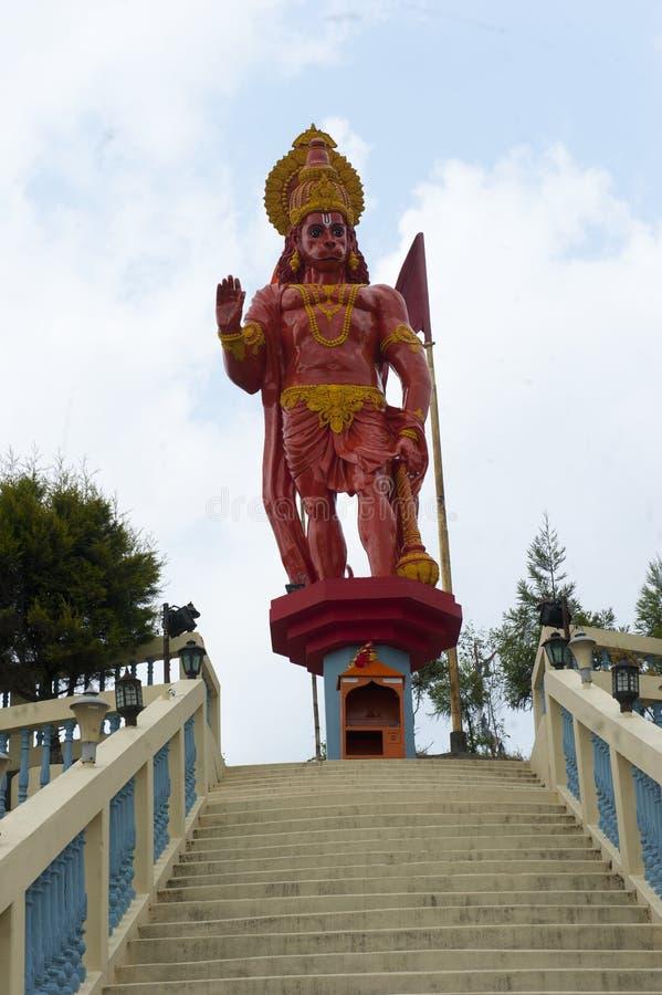Hanuman statua w Darjeeling, India zdjęcie stock