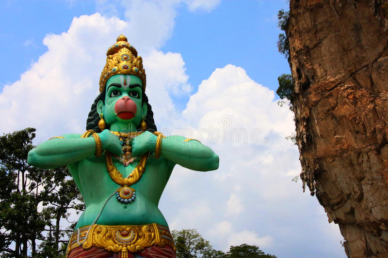 Hanuman Statue stockfotos