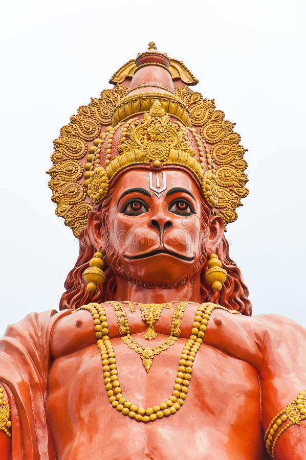 Free Hanuman Statue At Sikkim, India Stock Photography - 26214202