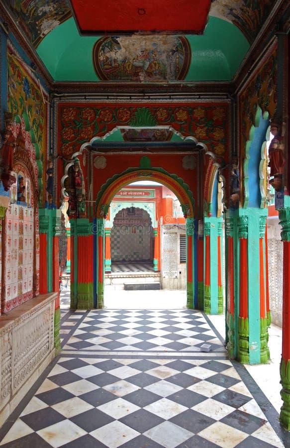 Hanuman Temple Ayodhya arkivfoto