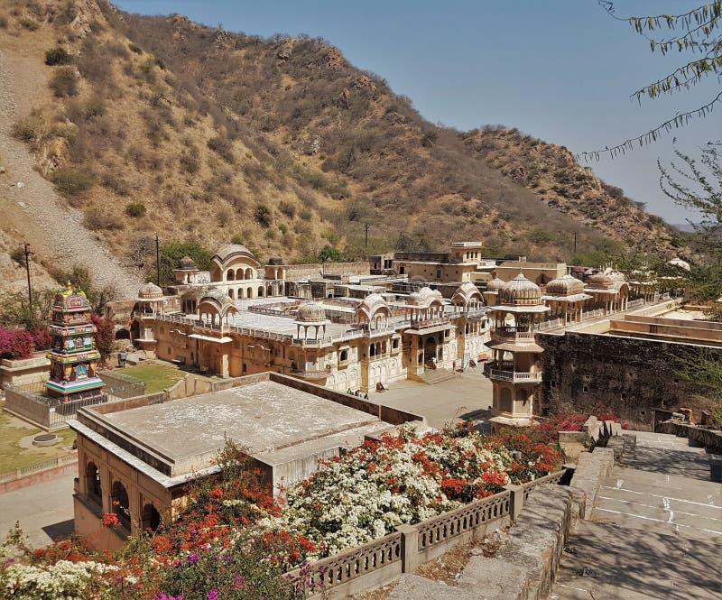Hanuman Temple - Jaipur - l'India fotografia stock