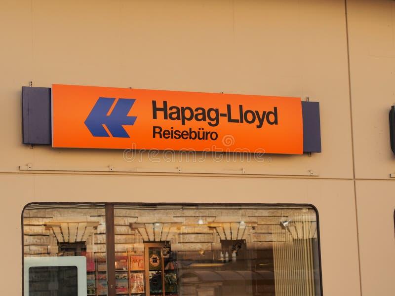 Hapag-Ллойд стоковые изображения rf