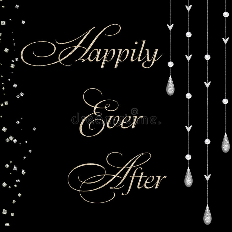 Download Happily ever after stock vector. Image of background - 13134229