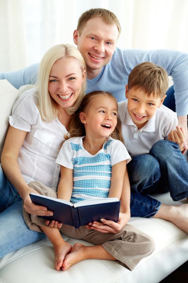 Download Happiness stock photo. Image of book, portrait, family - 27879518