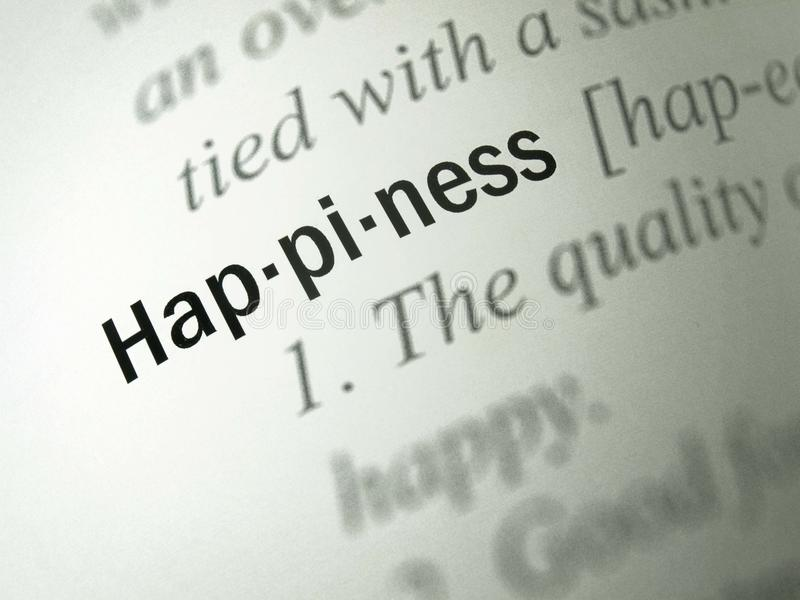 Download Definition: Happiness Stock Image. Image Of Horizontal   34363727