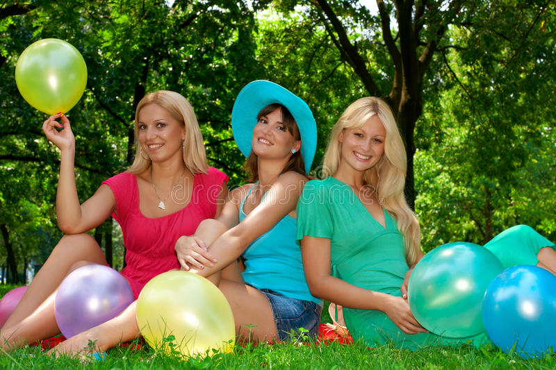 Happiness Friends Royalty Free Stock Photo