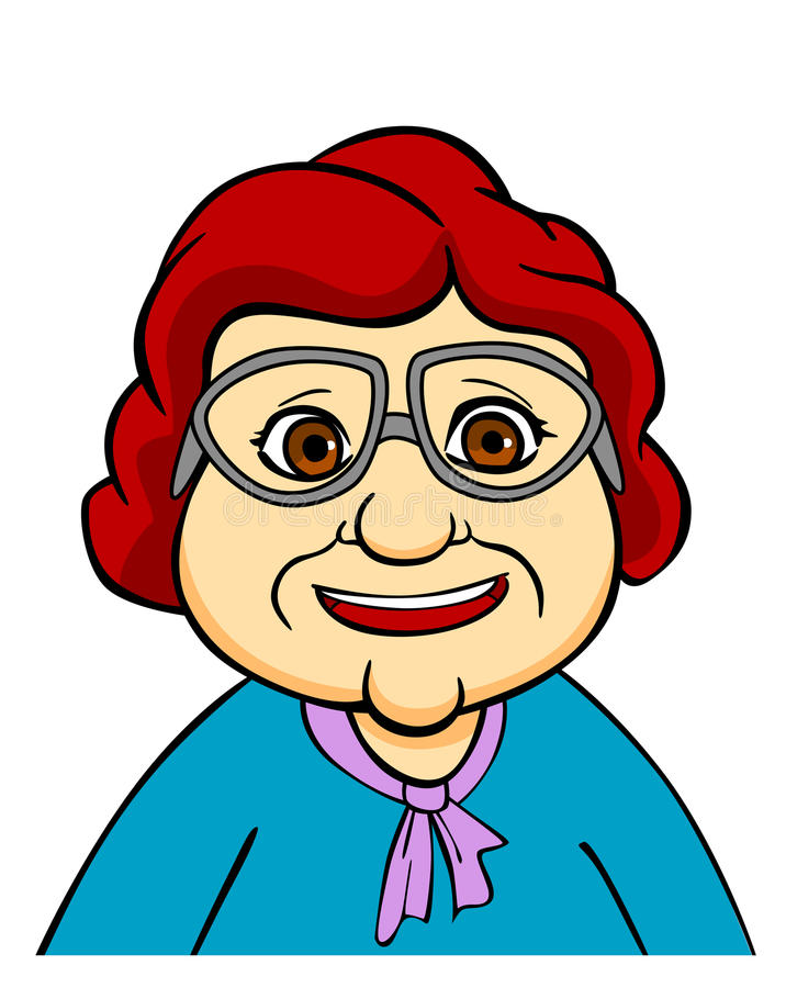 Happiness Grandmother Stock Photography