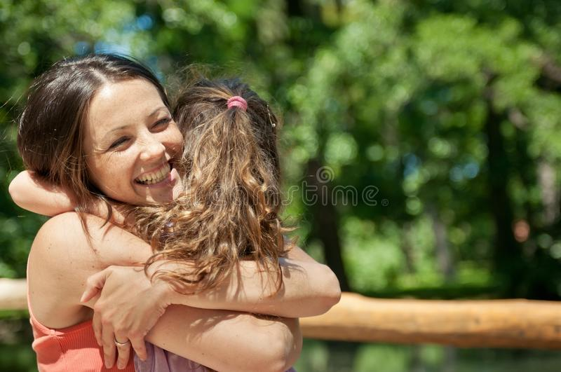 Happiness - mother with her child stock images