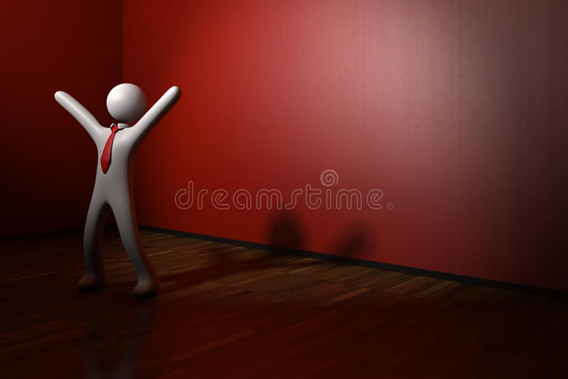 Download Happiness In The Red Room Royalty Free Stock Image - Image: 26720726