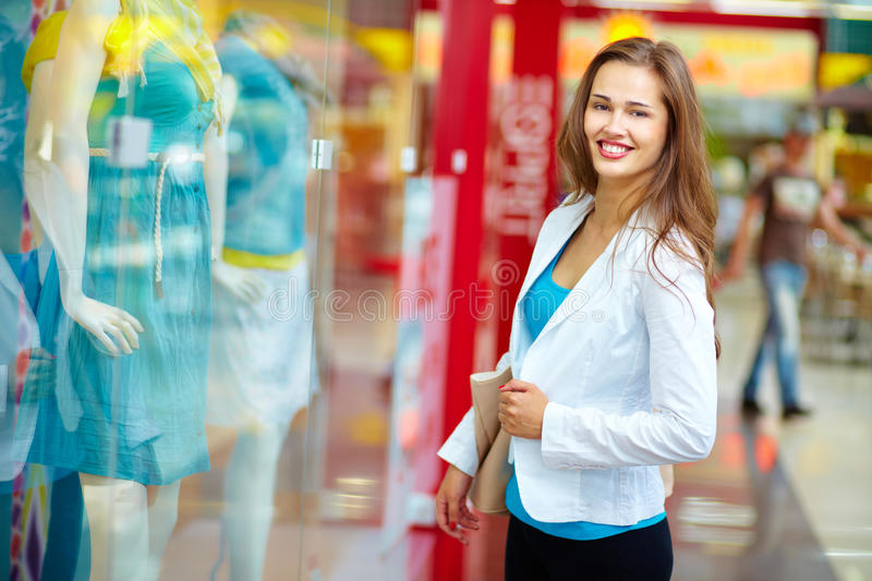 Download Happiness of shopaholic stock image. Image of fashionable - 28377001