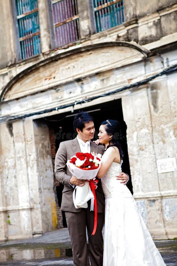 Happiness wedding couples stock photos