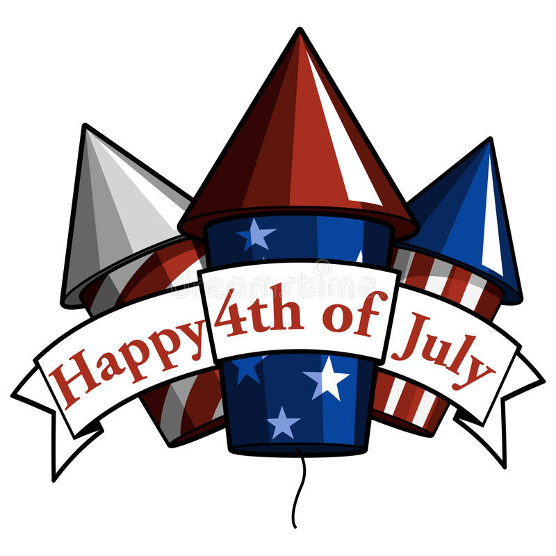 Free Happy 4th Of July Royalty Free Stock Images - 24495889
