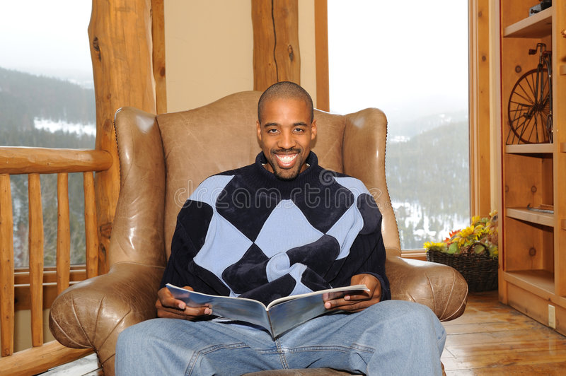 Download Happy African American  Male Stock Image - Image: 7733203