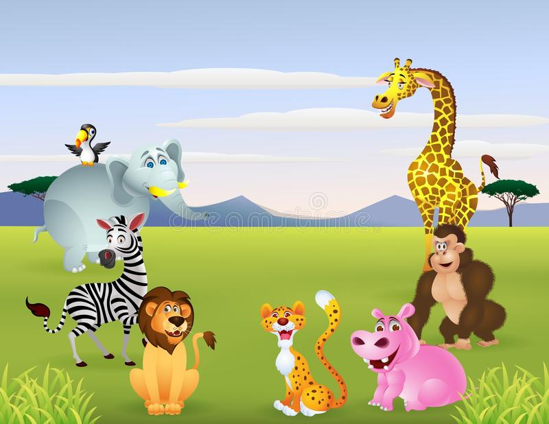 Download Happy Animal Cartoon Stock Photos - Image: 25902113