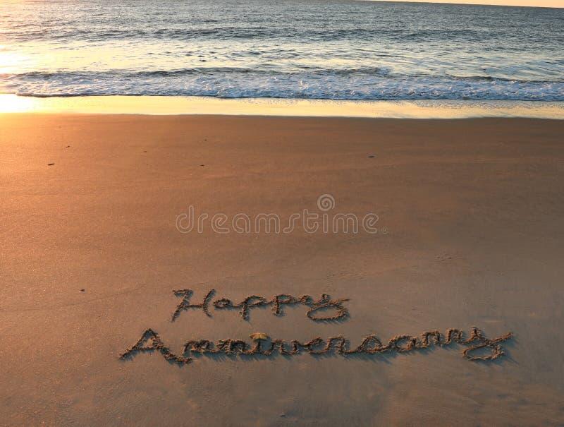 Happy Anniversary stock images