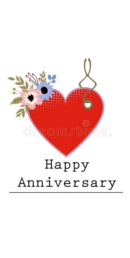 Happy anniversary wishing cards , gifting tags images. Happy anniversary wishing cards , gifting tags stock photos