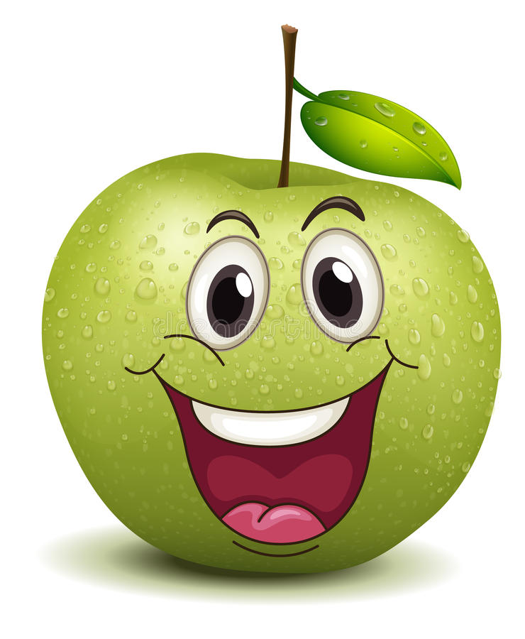 Download Happy Apple Smiley Stock Images - Image: 26941894