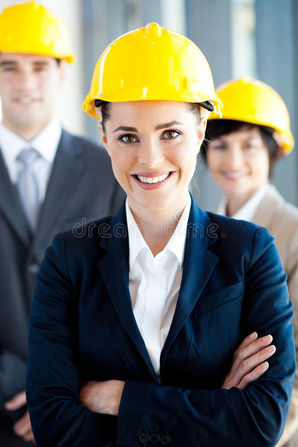 Happy Architects Royalty Free Stock Image