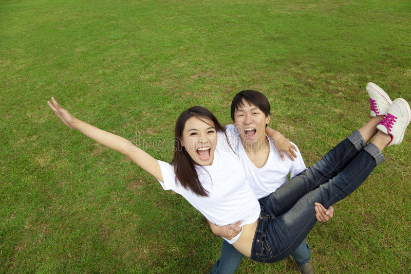 Download Happy asian couple stock image. Image of smile, together - 22438189