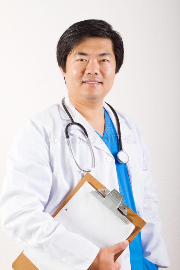 Download Happy asian doctor stock image. Image of professional - 14540867