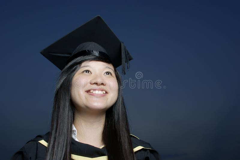 Download Happy asian graduate stock image. Image of woman, grin - 19285373
