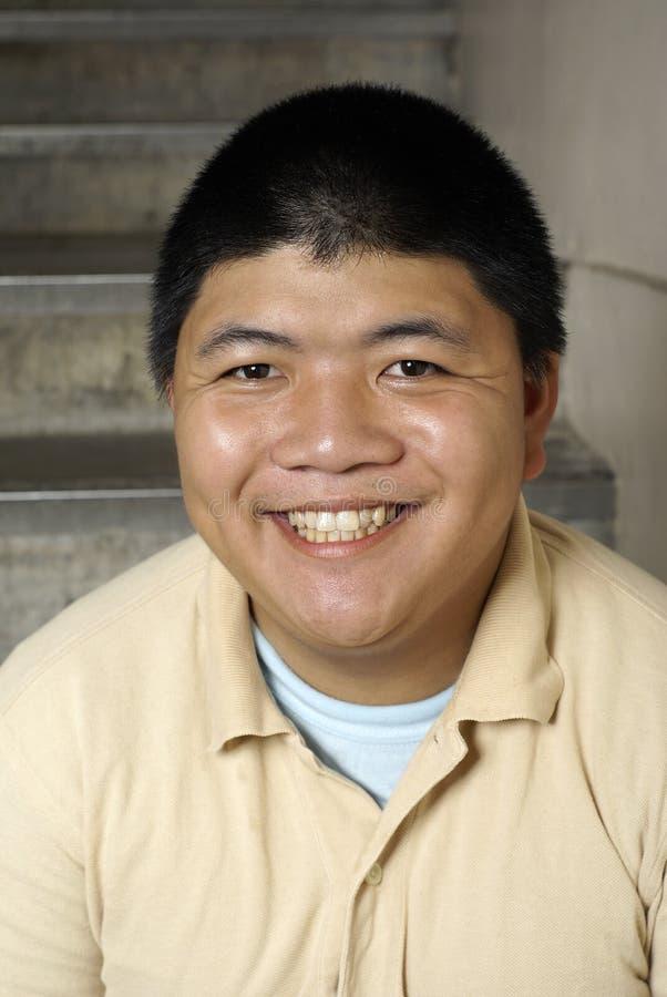 Download Happy asian man portrait stock photo. Image of positive - 8767654