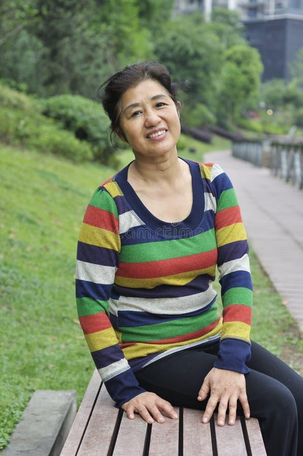Download Happy asian mature woman stock photo. Image of beautiful - 32332390