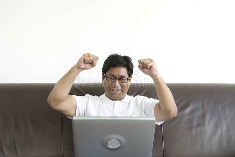 Happy asian student royalty free stock photography