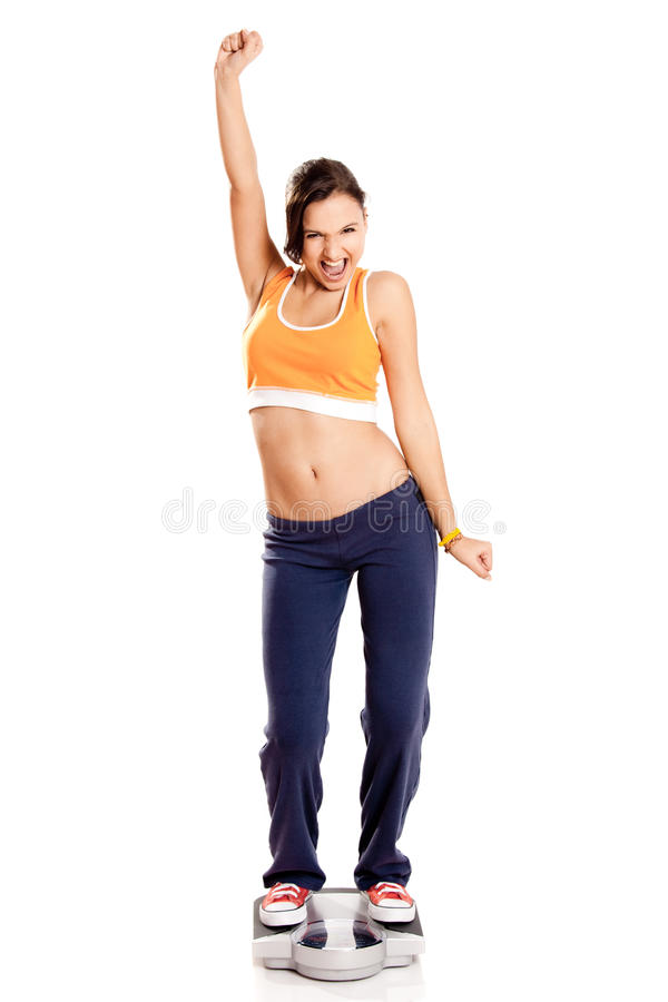 Download Happy athletic girl stock image. Image of lifestyle, people - 13854143