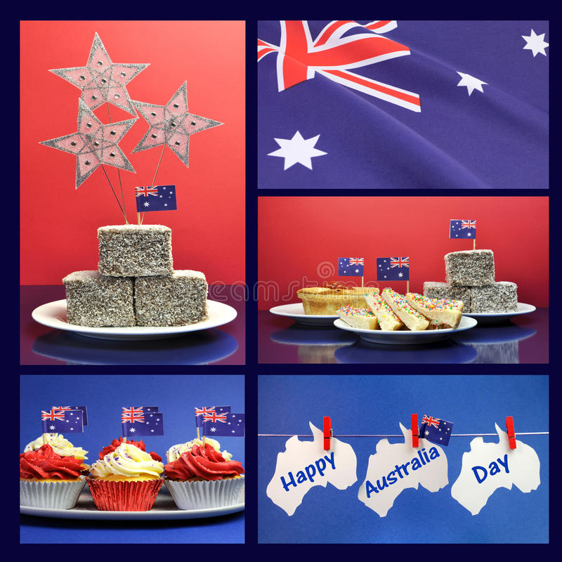 Download Happy Australia Day, January 26, Collage Stock Photo - Image of hanging, april: 40697184