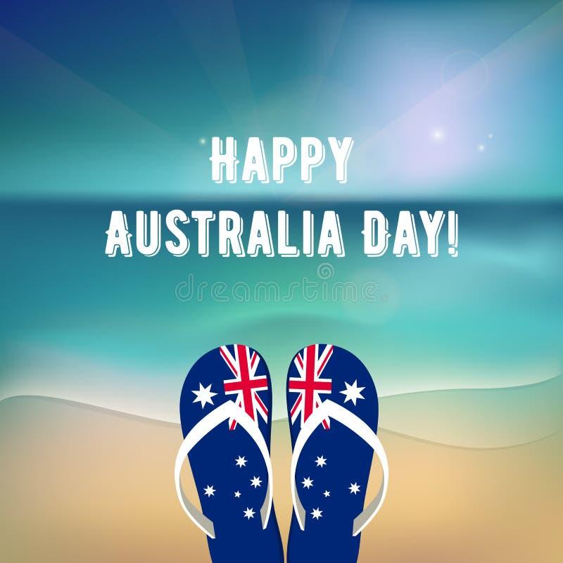 Happy Australia Day vector illustration