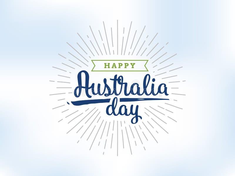 Download Happy Australia Day Vector Design. Stock Vector - Image: 83706825