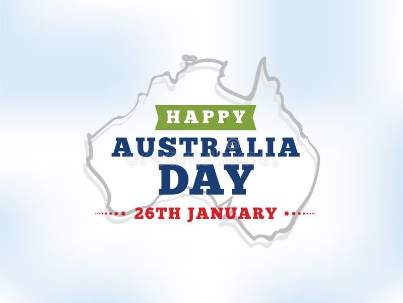 Download Happy Australia Day Vector Design. Stock Vector - Image: 83707019