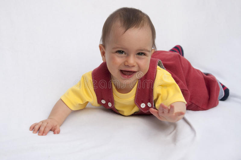 Download Happy baby stock photo. Image of cuddly, eyes, baby, child - 10938202