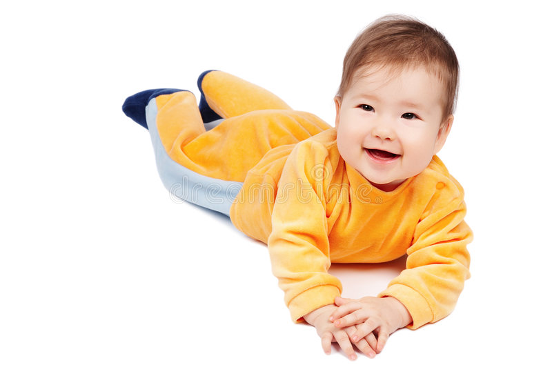Download Happy Baby Royalty Free Stock Photos - Image: 4256268