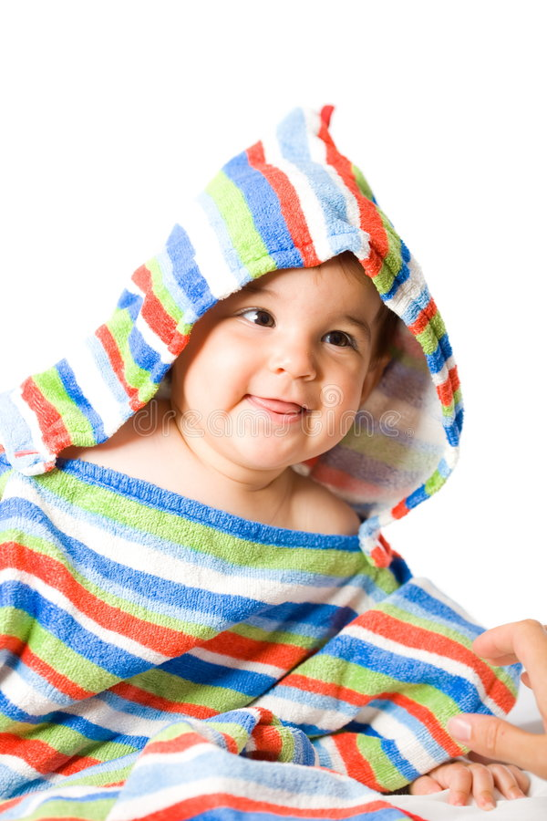 Download Happy baby in colors stock image. Image of cheerful, cuddly - 9101639