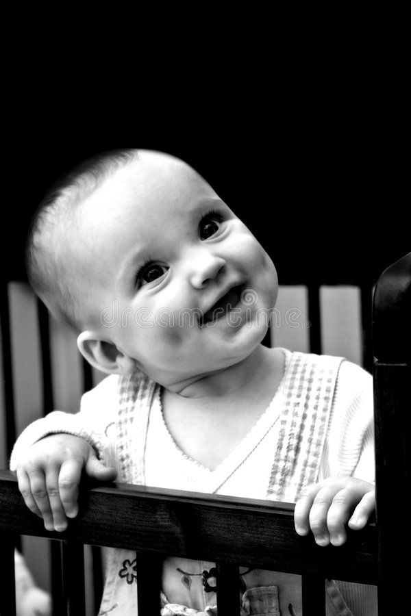 Download Happy baby with dimples stock image. Image of adorable - 2088159