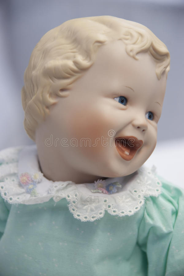 Happy Baby Doll royalty free stock photography