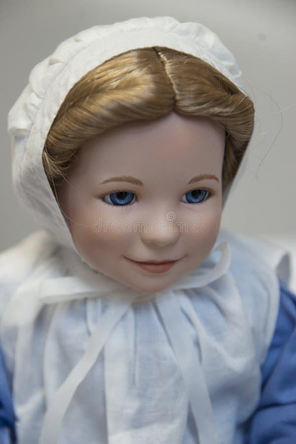 Happy Baby Doll stock image