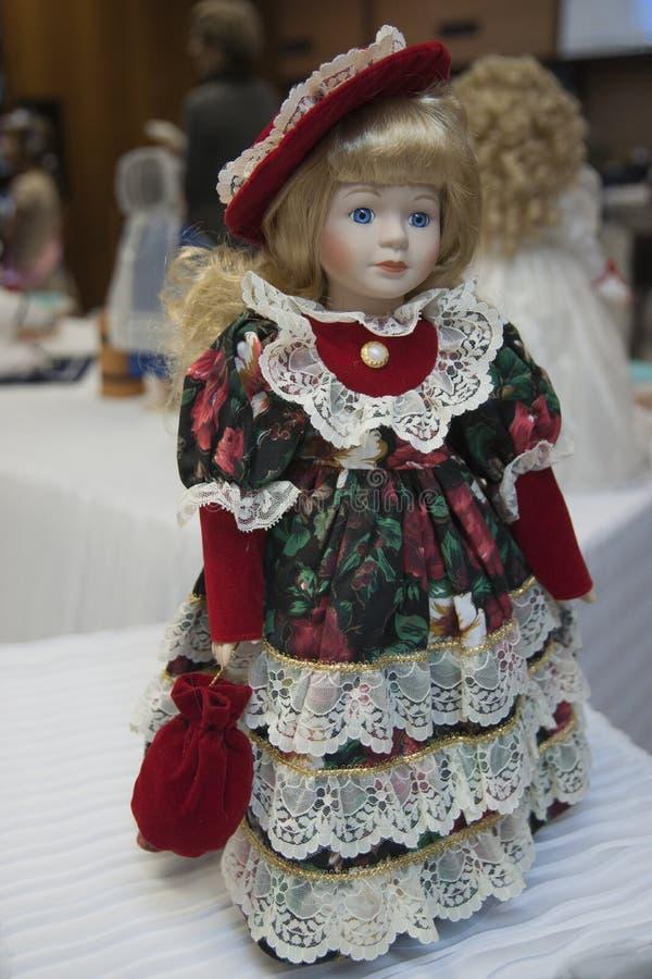 Happy Baby Doll stock photo