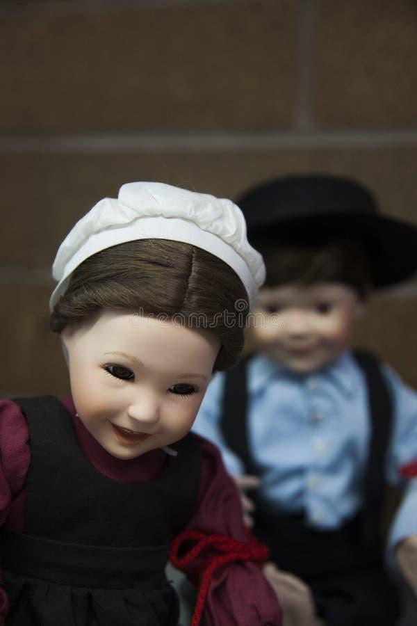Happy Baby Dolls stock photo