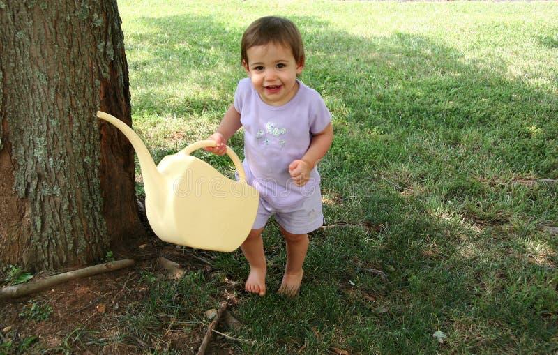 Happy Baby Girl Royalty Free Stock Image