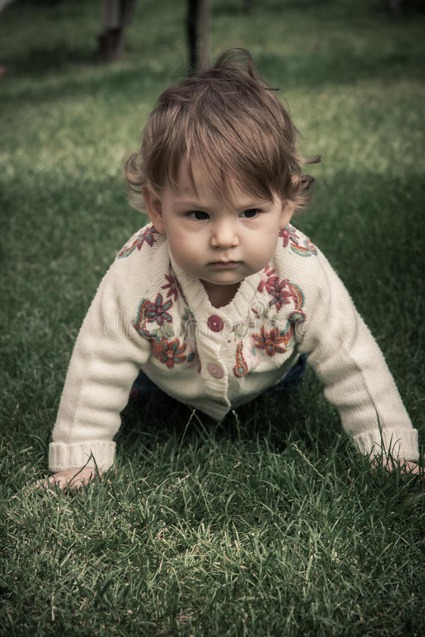 Download Happy Baby Girl Playing Royalty Free Stock Photo - Image: 29010835