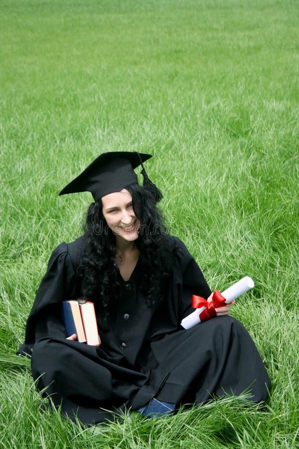Happy bachelor with diploma
