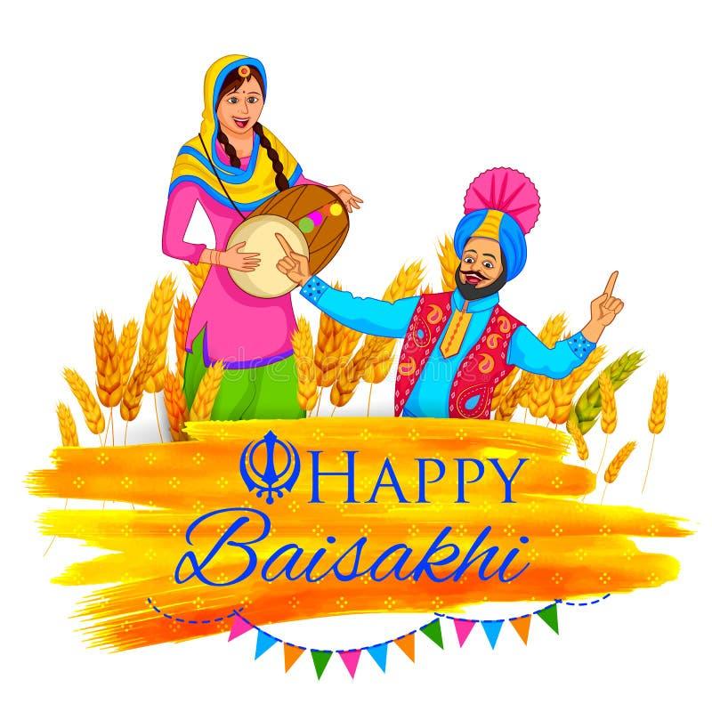 Free Happy Baisakhi Background Stock Photography - 68754092