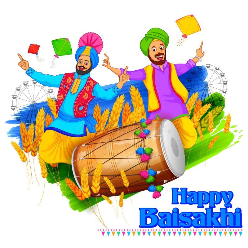 Free Happy Baisakhi Background Stock Images - 68754404